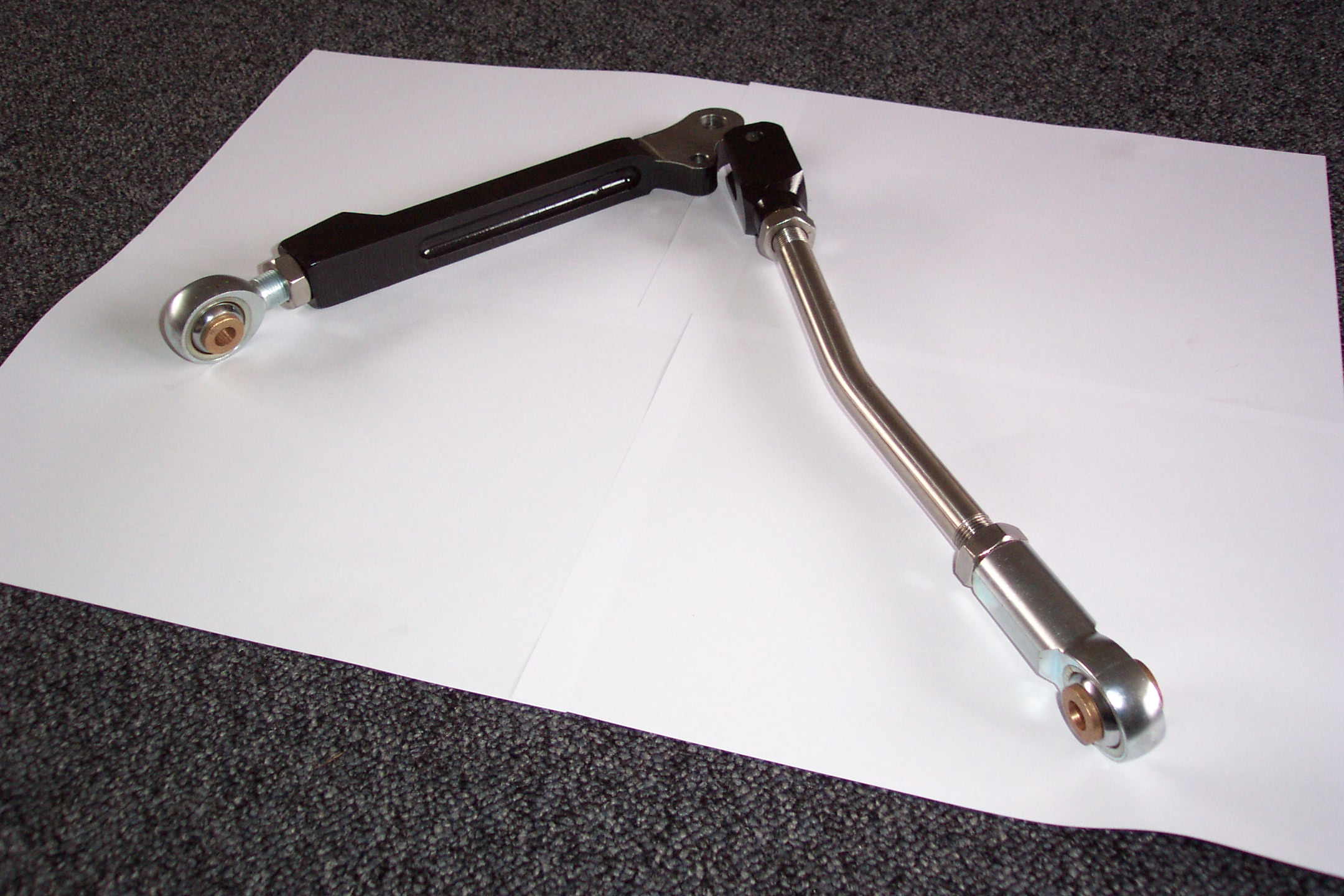 Billet Bottom Arms and Tie Bar for VTEC/Suzuki/Rover